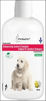 Sulfur and Camphor Shampoo 250 ml