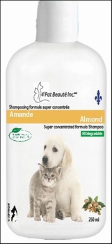 Super Concentrated Almond Shampoo 250 ml