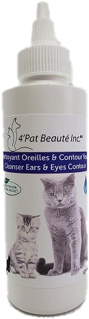 Dog skin and eye contour cleanser 125ml