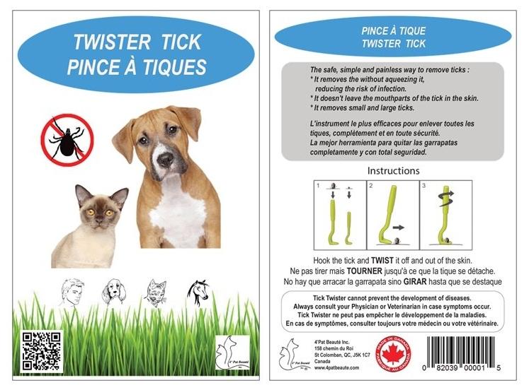 Tick pliers