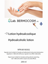 Solution hydro-alcoolique 60 ml